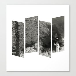 Coulrophobia Woods Canvas Print