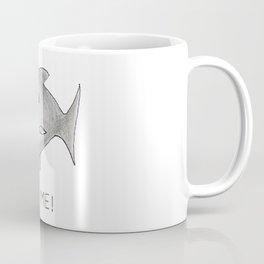 Funny Shark Bite Me Coffee Mug