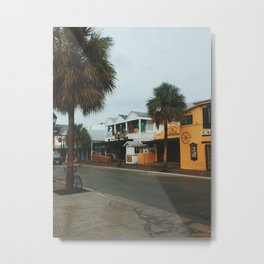 Greene Street, Key West Metal Print