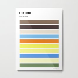 The colors of - to to ro Metal Print