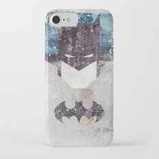 Bat grunge superhero iPhone 7 Slim Case