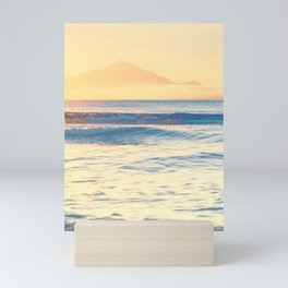 Beach Sunrise Mini Art Print