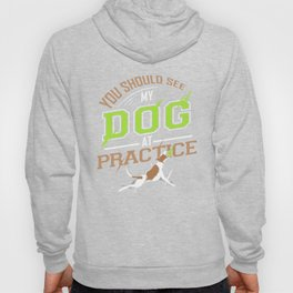 You Should See My Dog At Practice Hoody