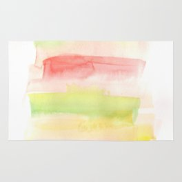 171122 Self Expression 7| Abstract Watercolors Rug