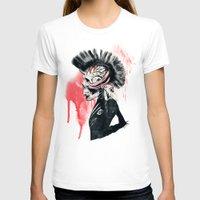 punk T-shirts featuring PUNK by Ali GULEC