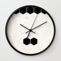 chaplin Wall Clocks featuring Chaplin by Alexandre Reis