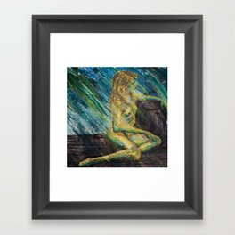 Sidereal Marmoreal Framed Art Print