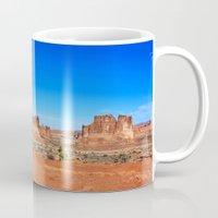 utah Mugs featuring Monument, Utah by Chris Root