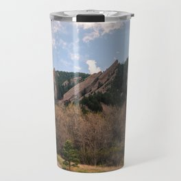 Flatirons Sunset Travel Mug