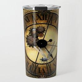 Steampunk design Travel Mug