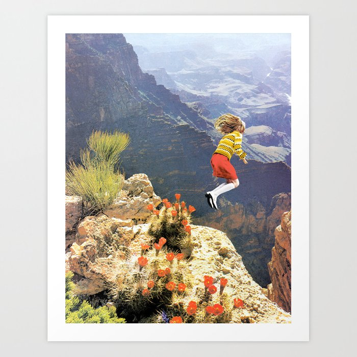 Discover the motif LEAP by Beth Hoeckel as a print at TOPPOSTER