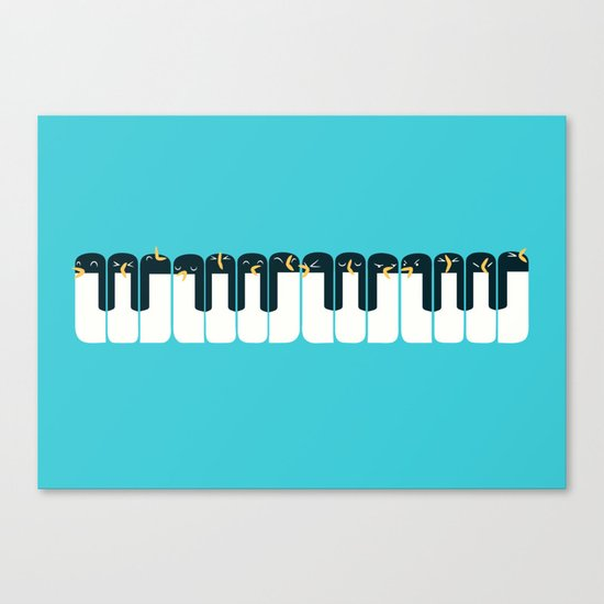 The Choir of Antarctica Canvas Print