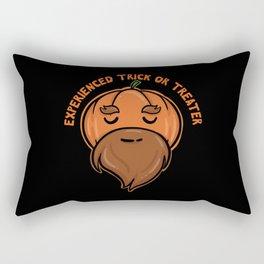 Halloween Experienced Trick Or Treater Rectangular Pillow
