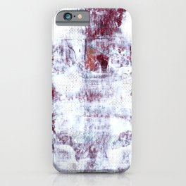 Hitting The Wall iPhone Case