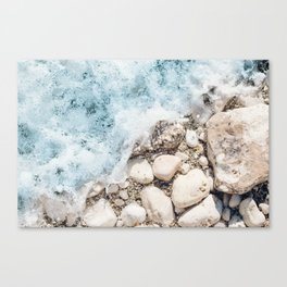 Wave On Canvas Print
