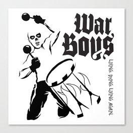 War Boys Canvas Print