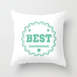 Mistakes Are Proof That You Are Trying Cool Tshirt The best Memories Throw Pillow