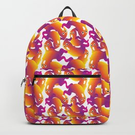 Ghost Halloween Pattern Backpack