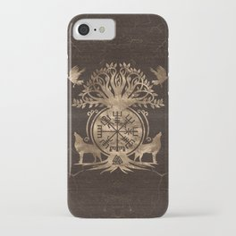 Vegvisir - Viking Compass Ornament iPhone Case