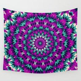Summer Mandala 8 Wall Tapestry