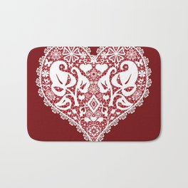 You . With Love . Bath Mat