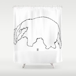Badger Badger Shower Curtain