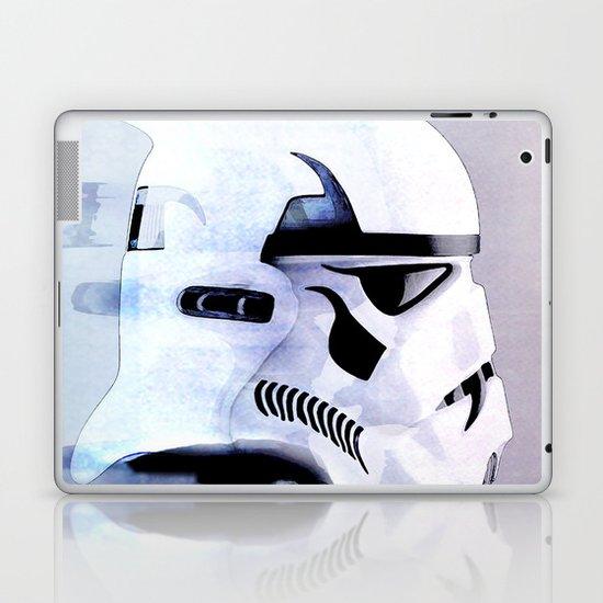 vampire trooper Laptop & iPad Skin