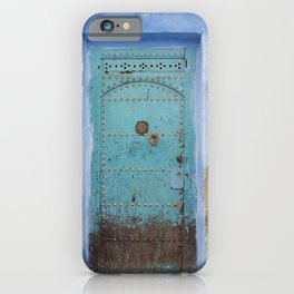 Doorways - Morocco - Chefchaouen The Blue City 8 iPhone Case