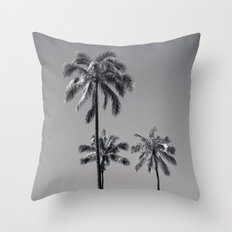 palm treee Throw Pillow