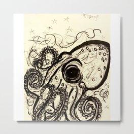 Outstanding Octopus Metal Print