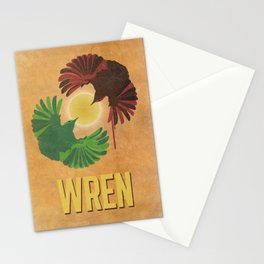 Wrens Stationery Cards