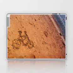 sand bicycle Laptop & iPad Skin