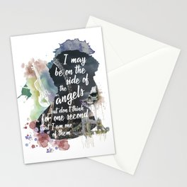 Sherlock Side of the Angels Stationery Cards