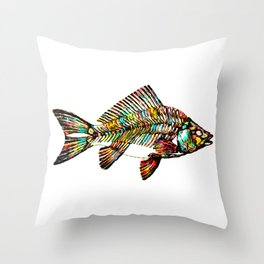 Not all goldfish are gold Throw Pillow