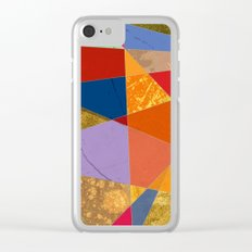 Abstract #337 Clear iPhone Case