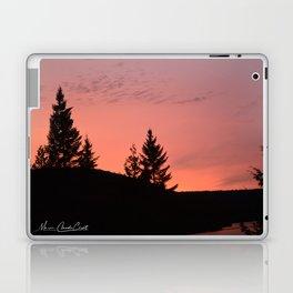Sunset on the lake Laptop & iPad Skin