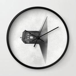 TARDIS Sound Barrier Wall Clock