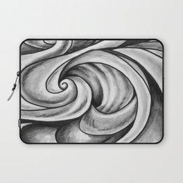 Swirl (Gray) Laptop Sleeve
