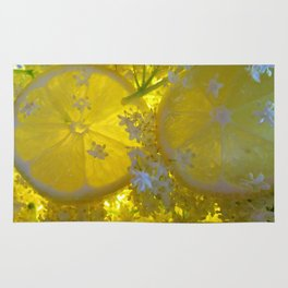 Lemon and Elderflower Rug