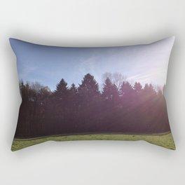 evergreen paddock Rectangular Pillow