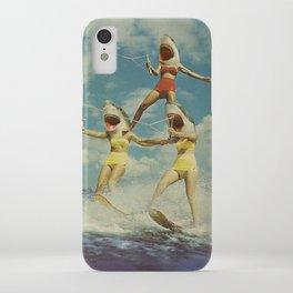 On Evil Beach - Shark Attack iPhone Case