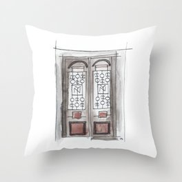 teatro nacional Throw Pillow
