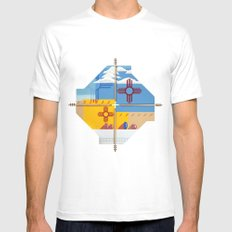 Altered State: NM White Mens Fitted Tee MEDIUM