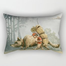 Runaways Rectangular Pillow