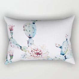 Fresh Cactus II Rectangular Pillow