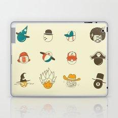 Weird balls with weird hats Laptop & iPad Skin