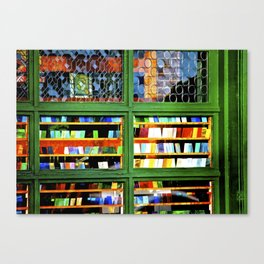 Colorful Tiles Canvas Print
