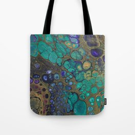 Golden Space Tote Bag