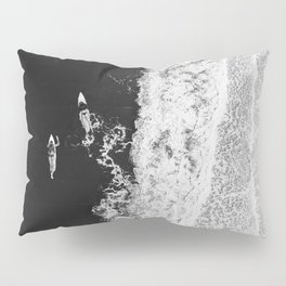 Ocean Surfing Girls Pillow Sham