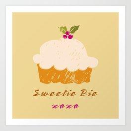Sweetie Pie Art Print